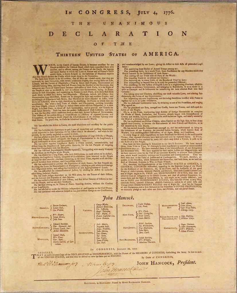 declaration of independence time line intima press intima press in 1777